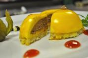 Mango-Schokokuppel